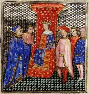 The court of Edward III of England