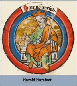 HAROLD I (Reigned 1035 – 1040)