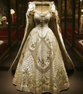 Queen Elizabeth II Coronation Gown