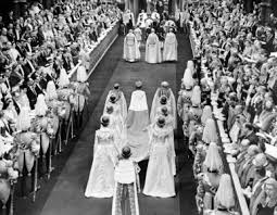Queen Elizabeth II at Westminster Abbey