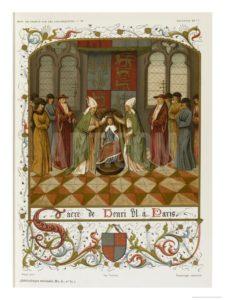Hnry VI Coronation at Paris