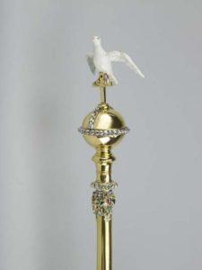 Coronation Sceptre with Dove